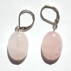 """Сережки из розового кварца """"Мечта"""""""