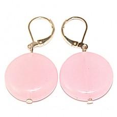 """Сережки из розового кварца """"Розовая магия"""""""