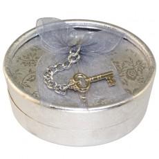 "Коробочка подарочная ""Серебристый ключ"""