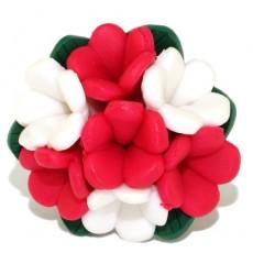 """Кольцо из полимерной глины """"Весенний цвет"""""""