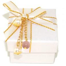 """Подарочная коробочка """"Жемчужный подарок"""""""