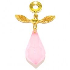 "Кулон в форме ангела ""Розовый ангел"""