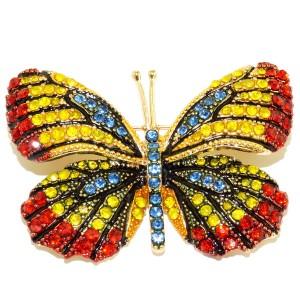 """Брошка бабочка """"Энеис"""""""