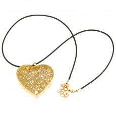 """Кулон под золото """" Золото сердца"""""""