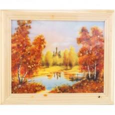 "Картина с янтарем ""Янтарные фрески"""