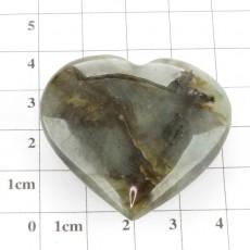 """Камень минерал сердечко лабрадор """"Сердечко лабрадор"""""""